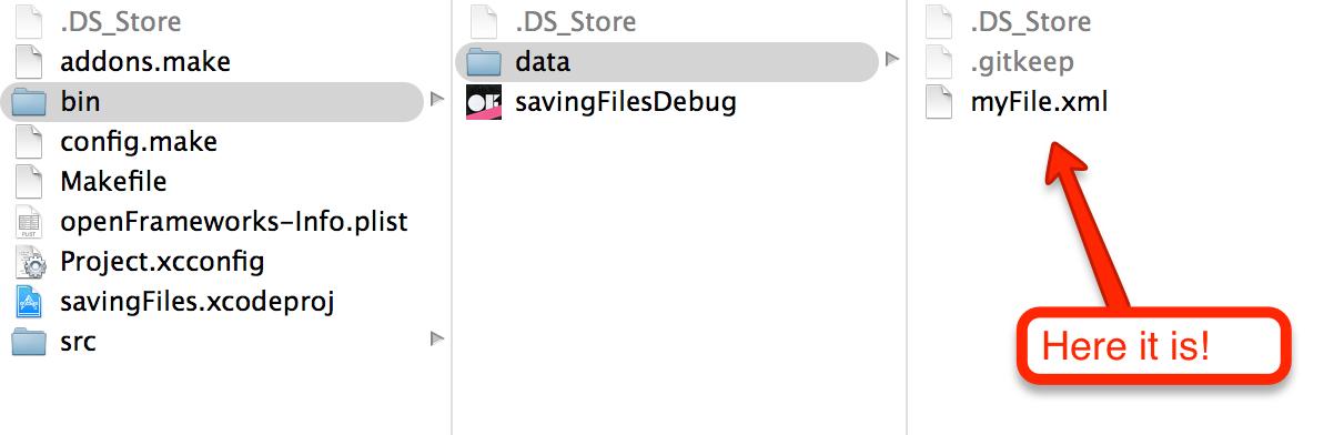 Save/export files | openFrameworks