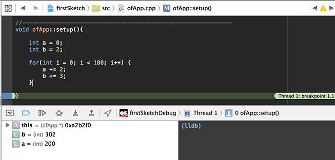 xcode   openFrameworks